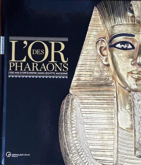 """Copertina del catalogo della mostra """"L'or des Pharaons"""""""