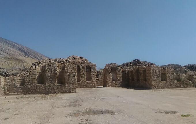 Le rovine di Bishapur