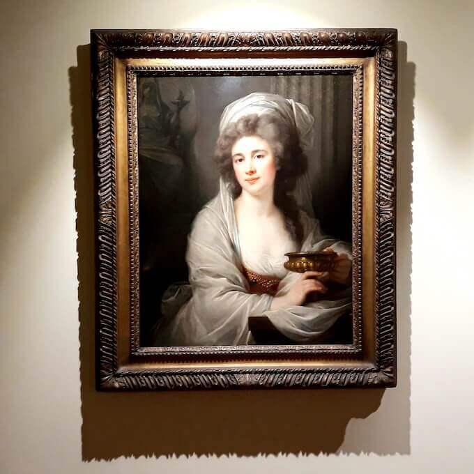 Giovanni Battista Lampi, Ritratto della contessa Sophie de Witt