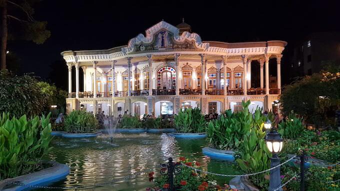 Il ristorante Shapouri a Shiraz