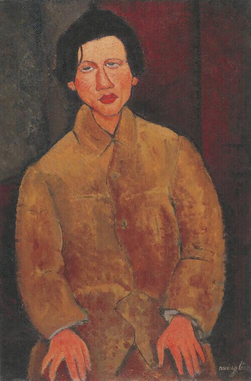 Amedeo Modigliani, Ritratto di Chaïm Soutine