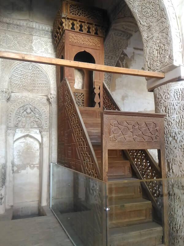 Pulpito della moschea di Na'in
