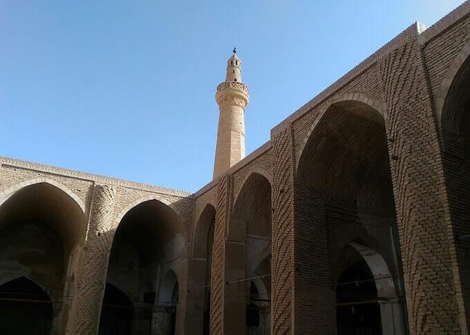 La Moschea del Venerdì a Na'in