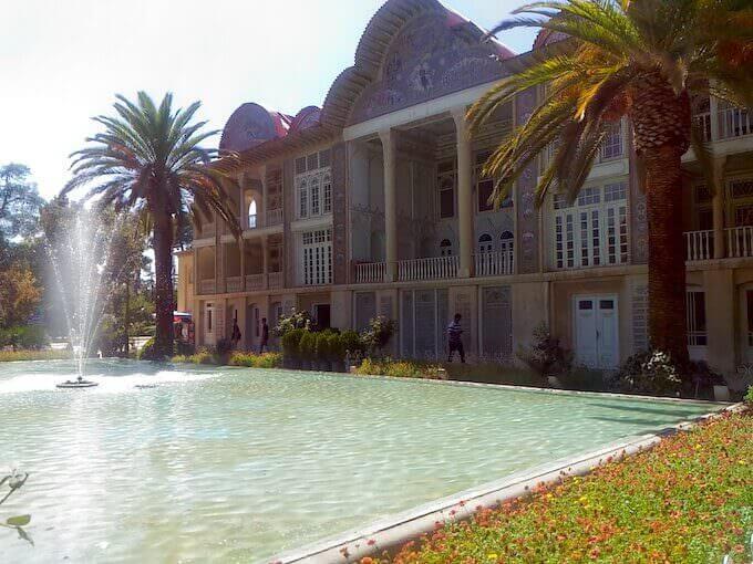 Palazzo nel giardino Eram a Shiraz