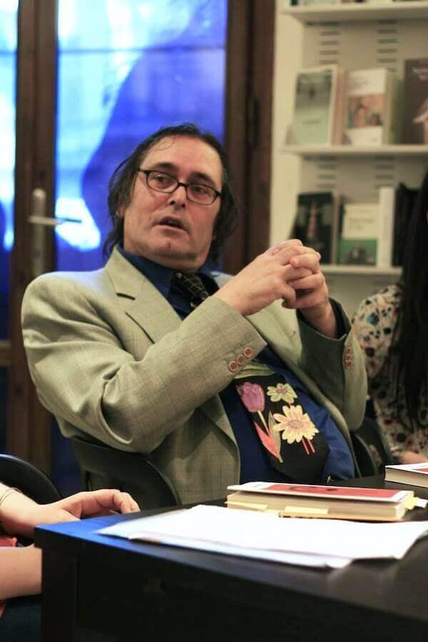 Lo scrittore Paolo Del Colle