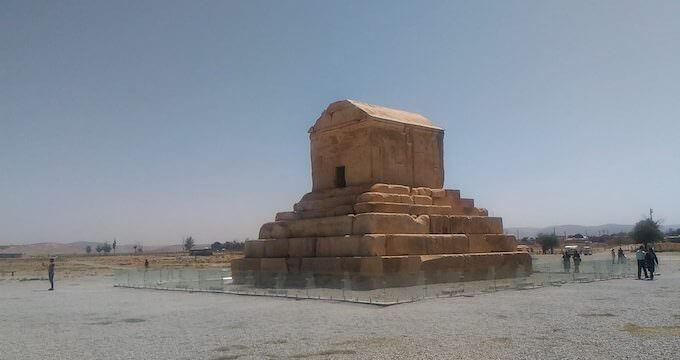 La tomba di Ciro a Pasargade