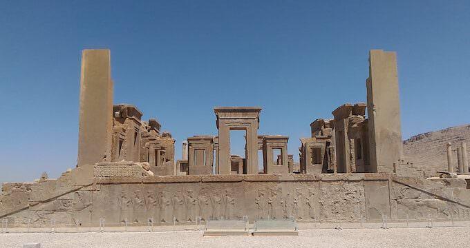 Persepoli: palazzo di Dario