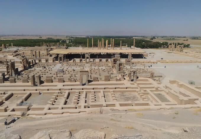 Persepoli: sito archeologico