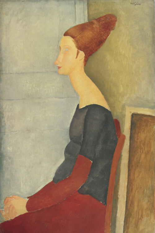 Amedeo Modigliani, Ritratto di Jeanne Hébuterne