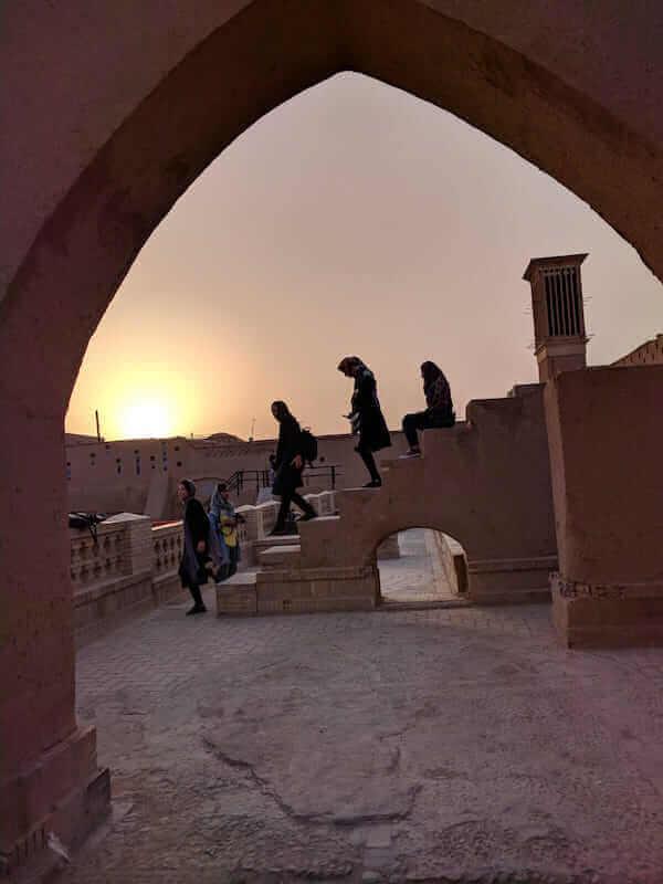 Ragazze a Yazd