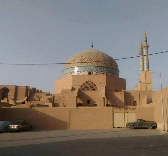 Yazd: la cupola e i minareti della Moschea del venerdì