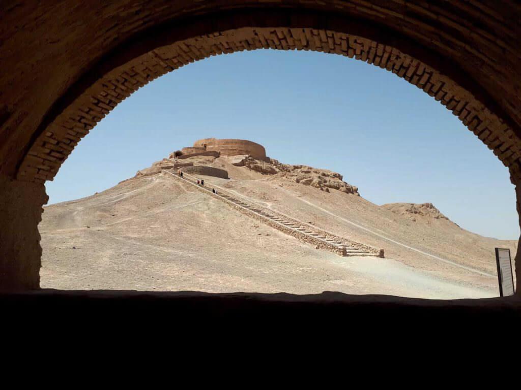 Torre del silenzio in Iran