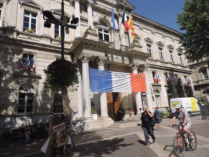 Avignone: il Municipio