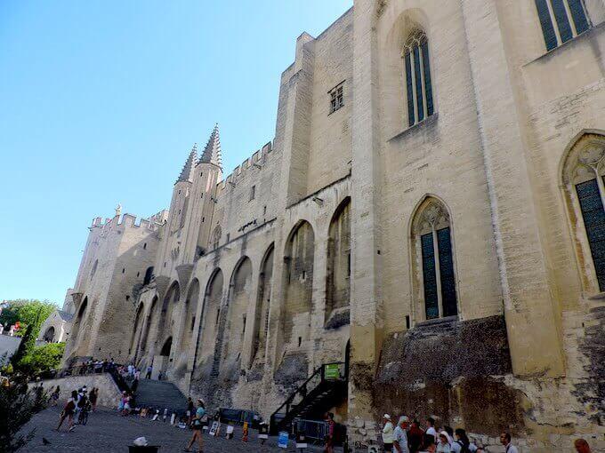 Avignone: il Palazzo dei Papi