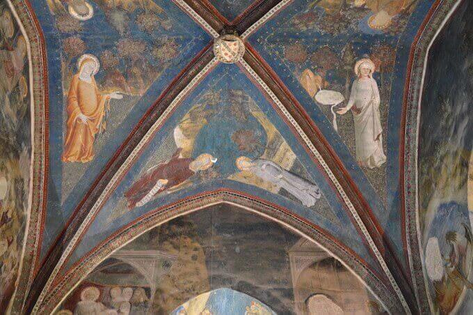 Affreschi del Palazzo dei Papi ad Avignone