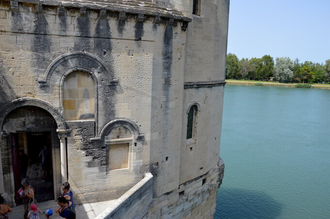 La cappella di Saint Nicolas ad Avignone