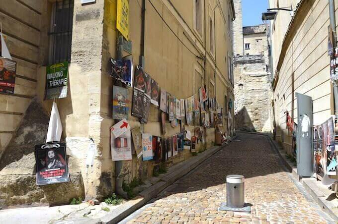 Un vicolo di Avignone