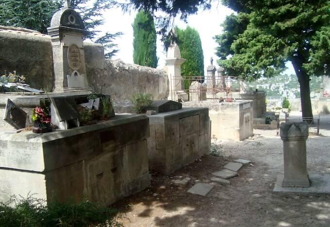 Les Baux-de-Provence: cimitero