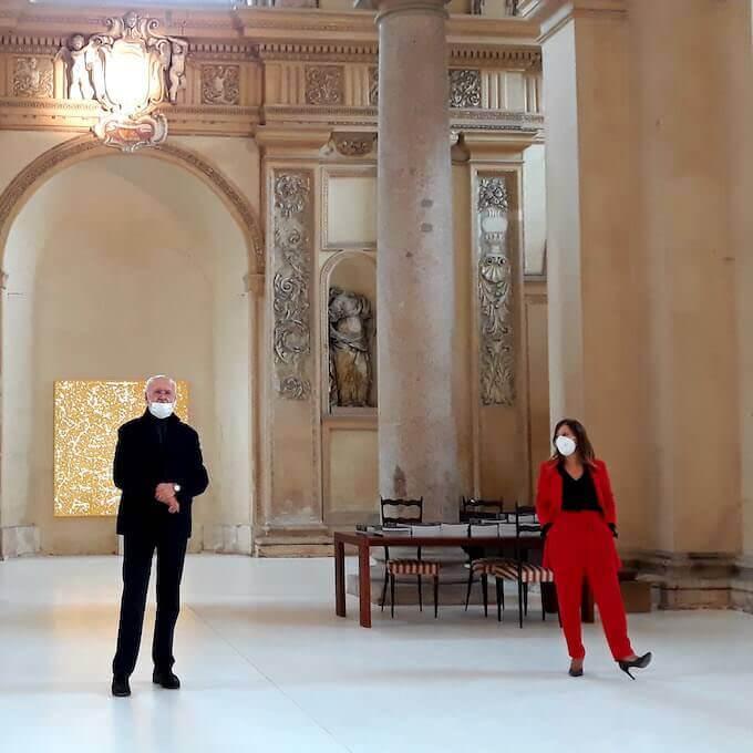 Giorgio Milani ed Enrica De Micheli a Volumnia