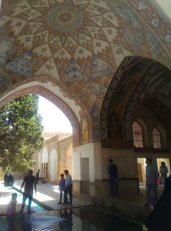 Antichi bagni del Giardino Fin a Kashan