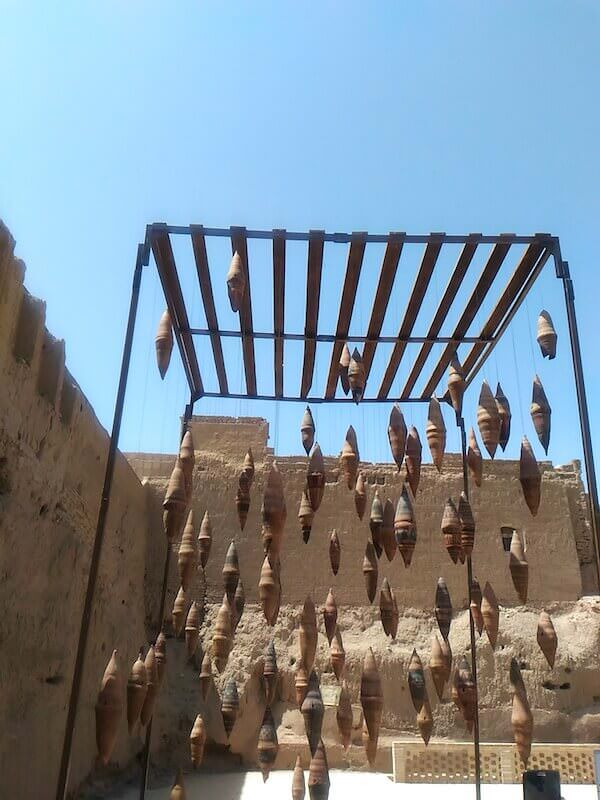 Kashan: oggetti in terracotta