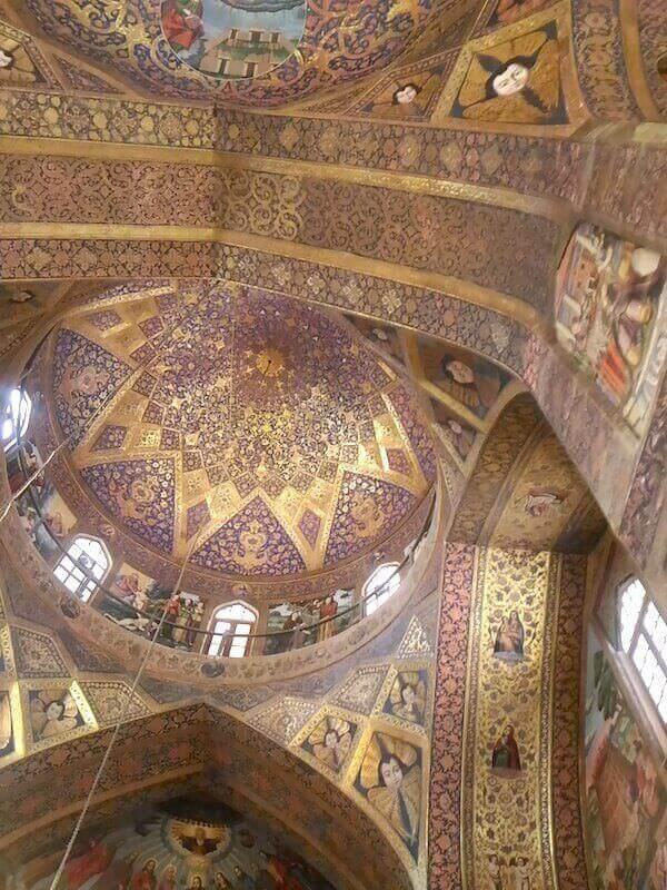 Isfahan, Cattedrale di Vank: cupola
