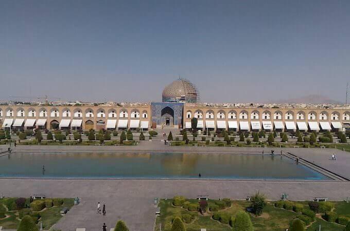 Isfahan: la Moschea Lotfollah