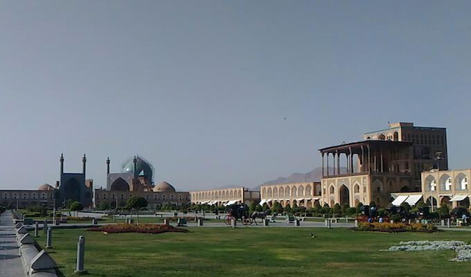 Piazza Meydān Naqsh-e Jahān a Isfahan