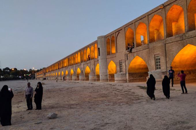 Ponte delle 33 arcate a Isfahan
