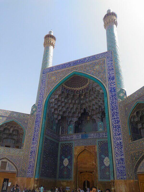 Ingresso della Moschea dello Scià a Isfahan