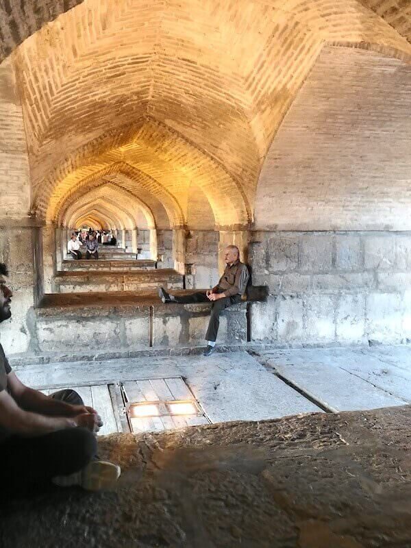 Isfahan: il ponte Khaju