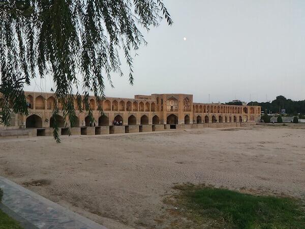 Il ponte Khaju a Isfahan