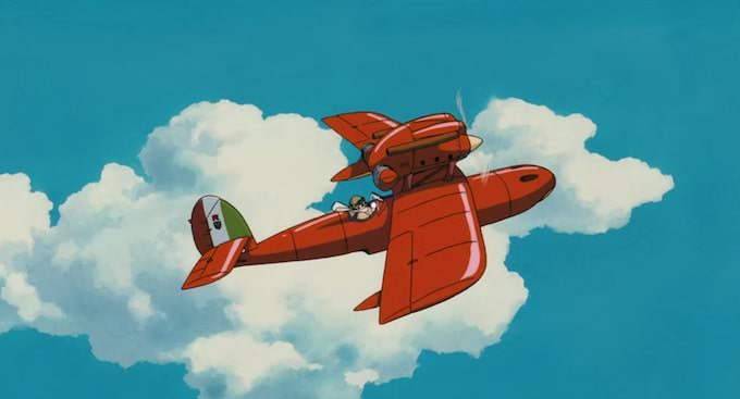 """Porco rosso"" di Miyazaki"