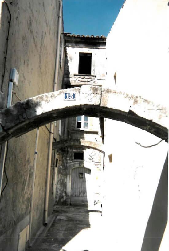 Un vicolo a Saint Remy