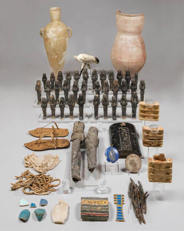 Corredo funerario di Nefertari
