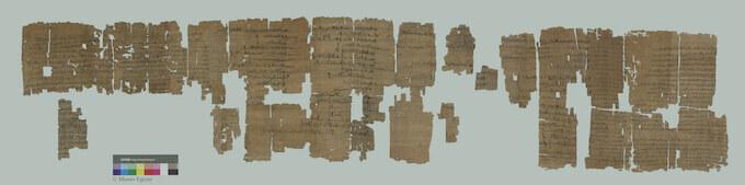 Un papiro del Museo Egizio di Torino