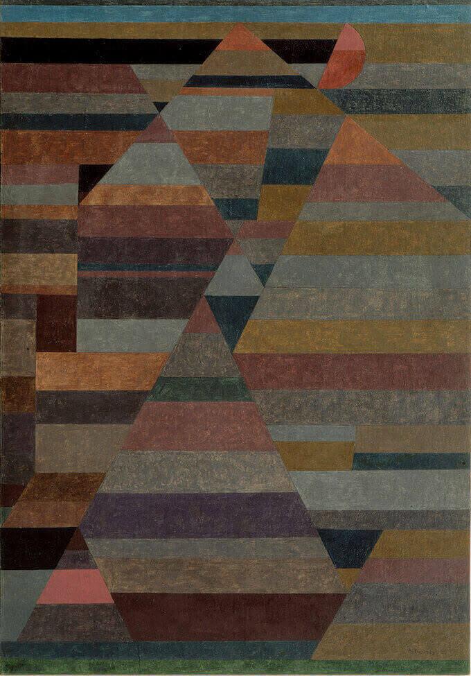 Paul Klee, Nekropolis (1929)