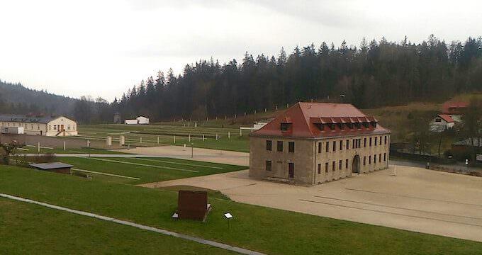 Campo di Flossenbürg: la Kommandantur