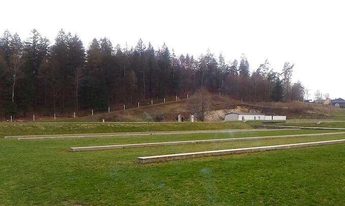 Campo di Flossenbürg: resti del carcere
