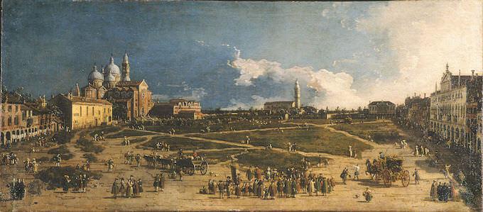 Canaletto, Prà della Valle