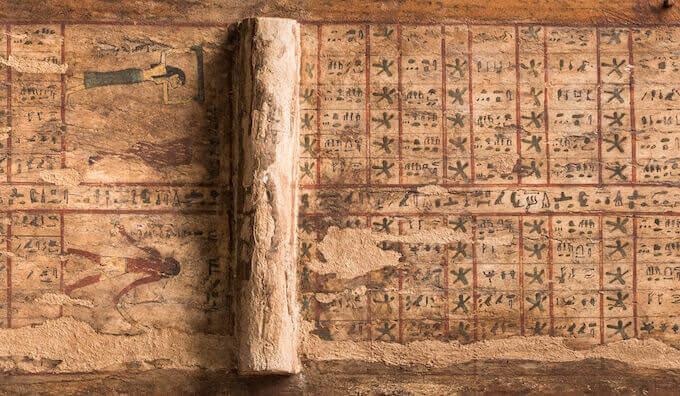 """Enrico Ferraris: """"Ritorni celesti nel firmamento d'Egitto"""""""