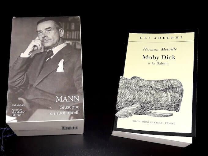 """""""Giuseppe e i suoi fratelli"""" e """"Moby Dick"""""""