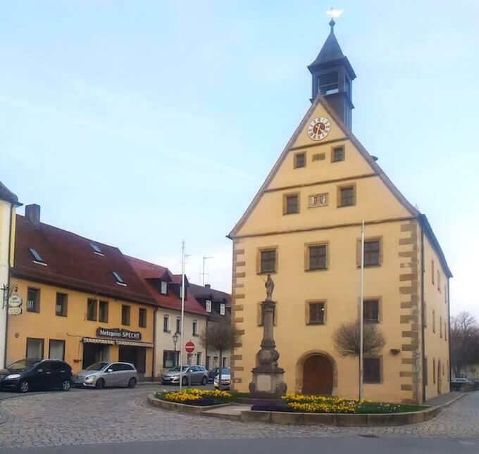 Il municipio di Grafenwöhr