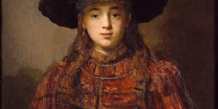 Rembrandt Van Rijn, Ragazza in una cornice, 1641