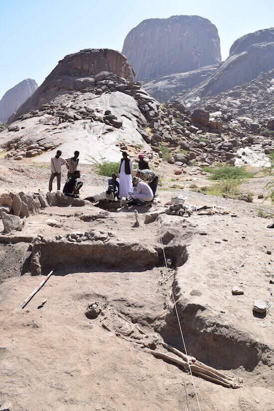 Una campagna di scavo di Andrea Manzo in Sudan