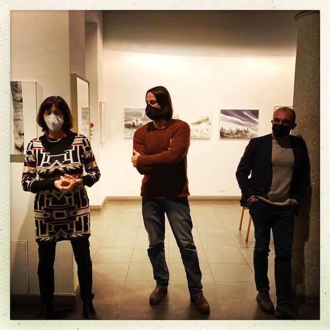 Cristina Taverna, Nicola Magrin e Marco Steiner alla Galleria Nuages