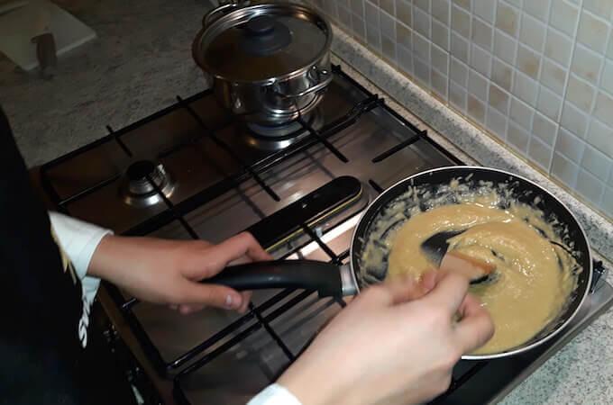 Roux per la zuppa di farina