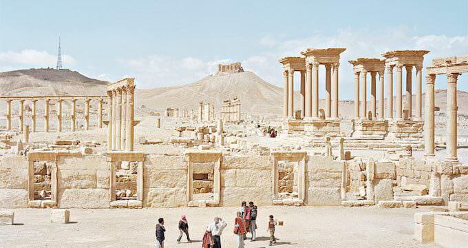 Alfred Seiland, Tadmor, Palmyra, Siria, 2011