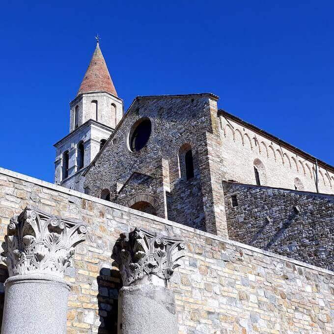 Basilica Patriarcale di Aquileia. Foto di Saul Stucchi