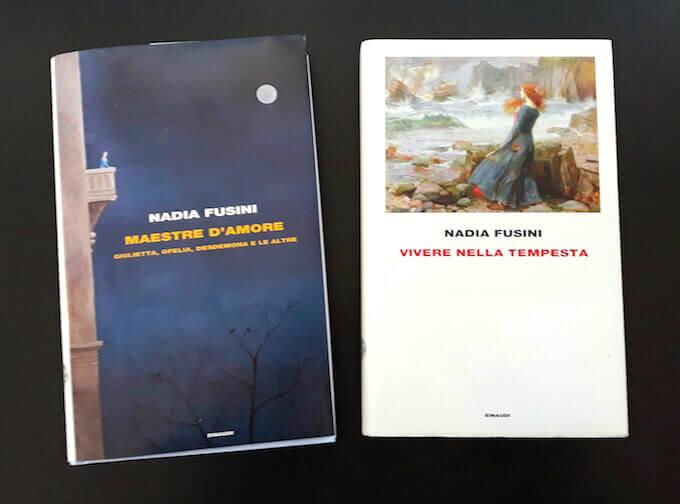"""Nadia Fusini, """"Maestre d'amore"""" e """"Vivere nella tempesta"""""""